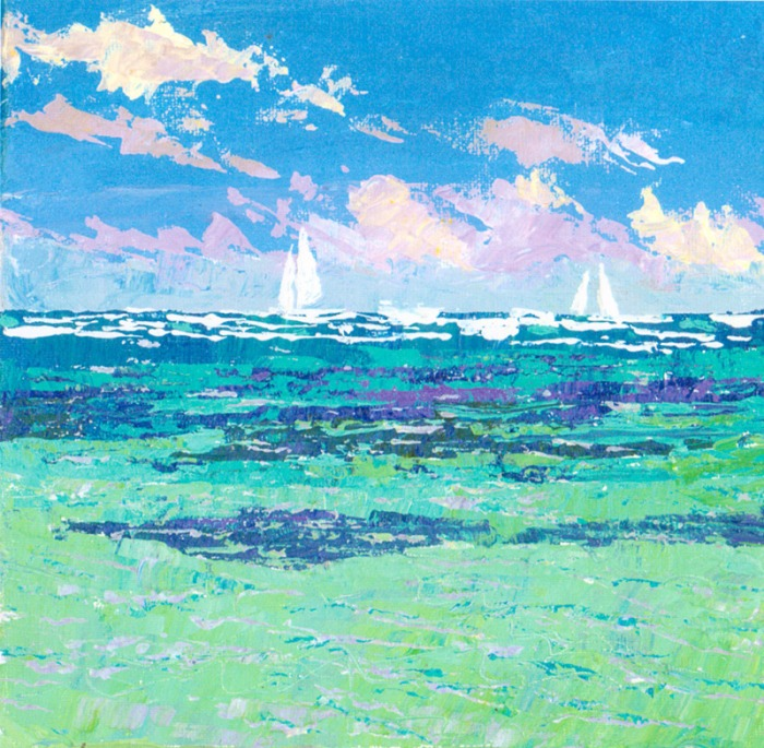 Mair Pattersun Beach Painting